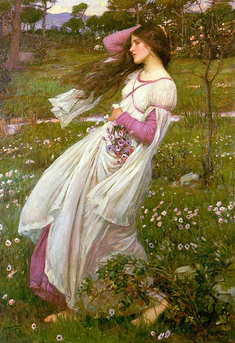 Windflowers by John William Waterhouse