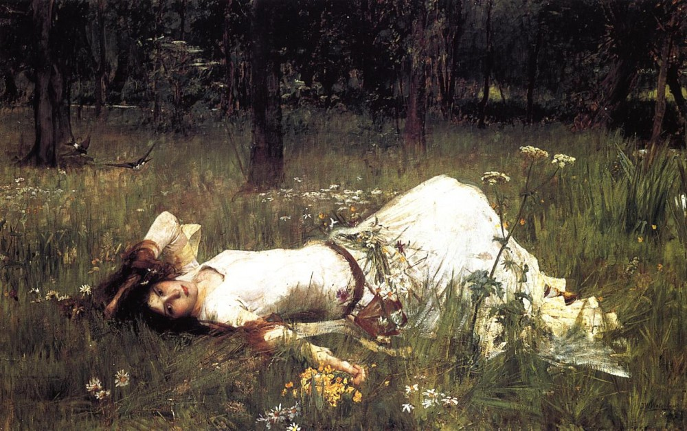 Ophelia2 by John William Waterhouse