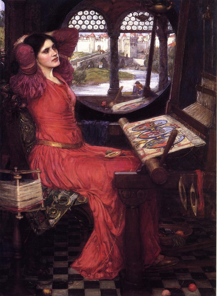 I am Half Sick of Shadows,' said the Lady of Shalott by John William Waterhouse