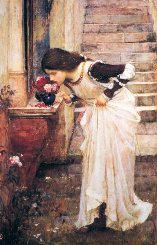 At the Shrine by John William Waterhouse