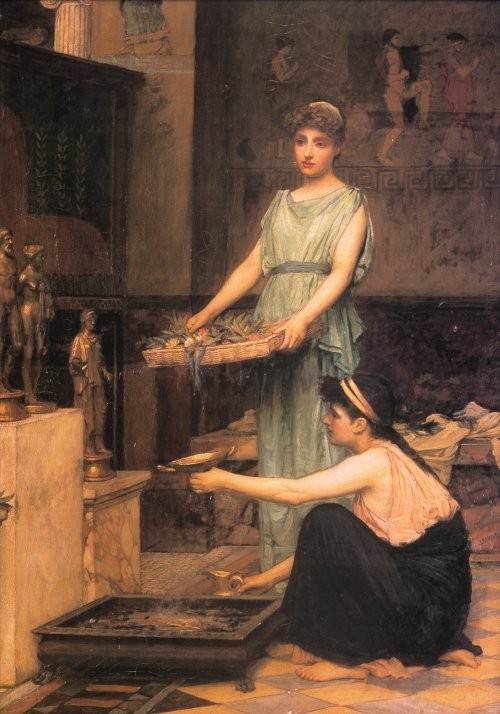The Household Gods by John William Waterhouse