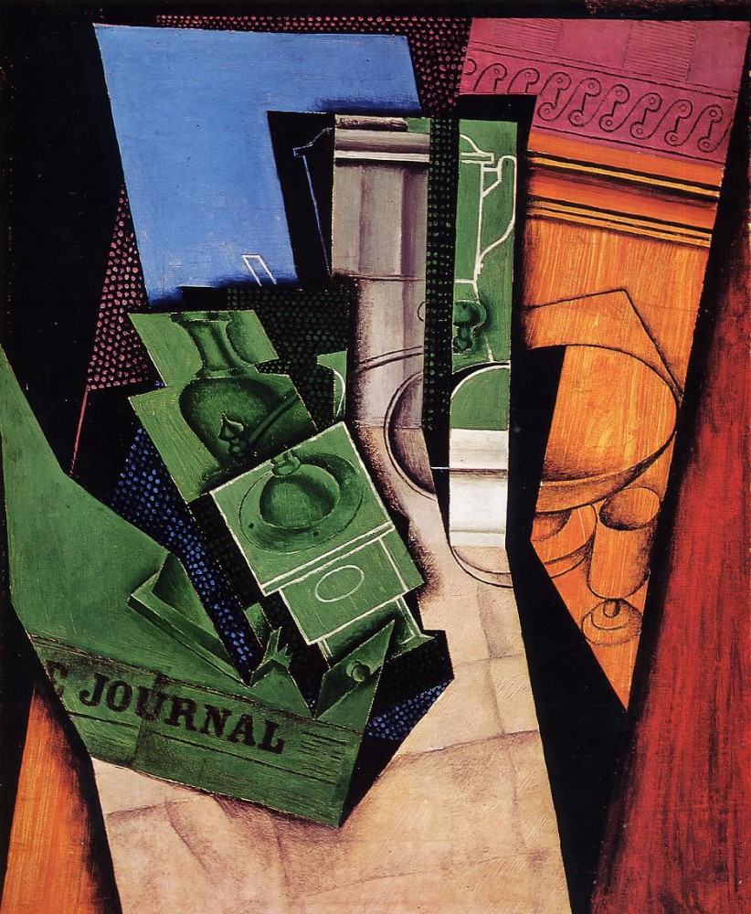 Breakfast by Juan Gris