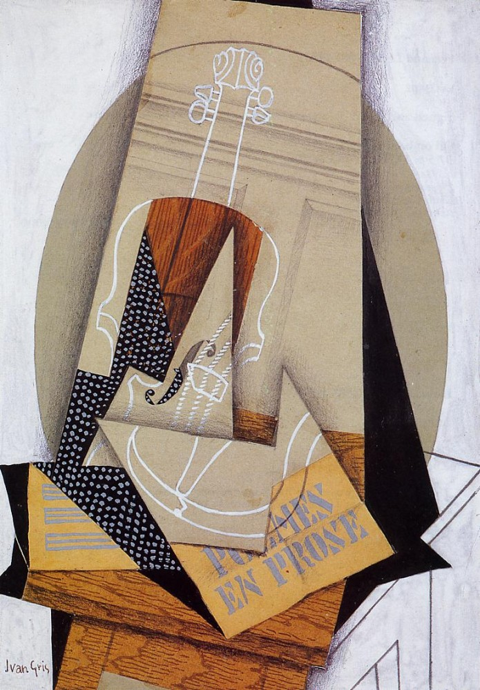 Composition with Violin by Juan Gris