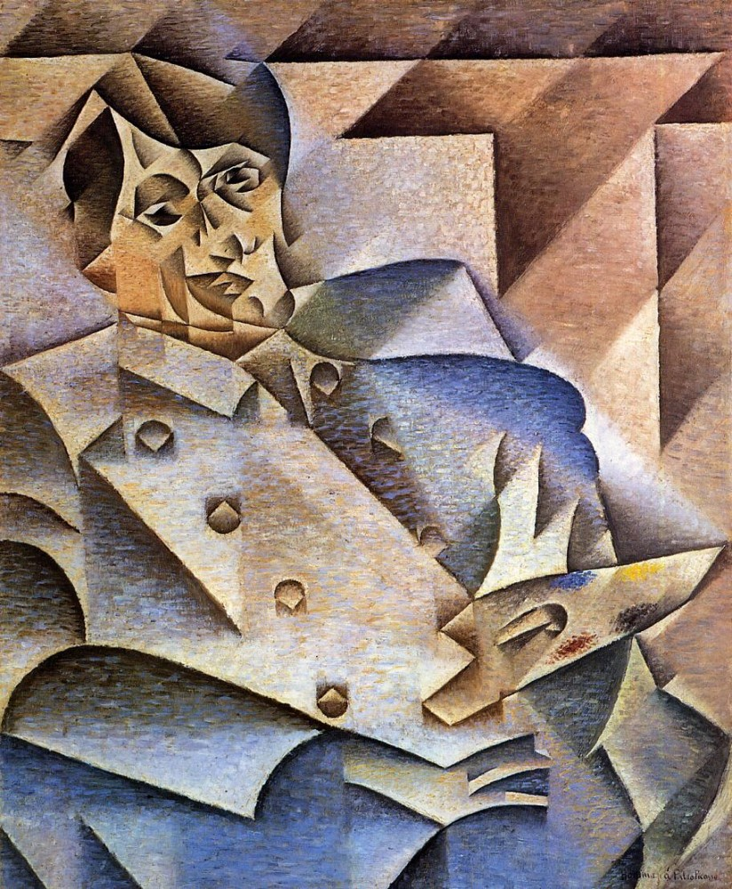Portrait of Picasso by Juan Gris