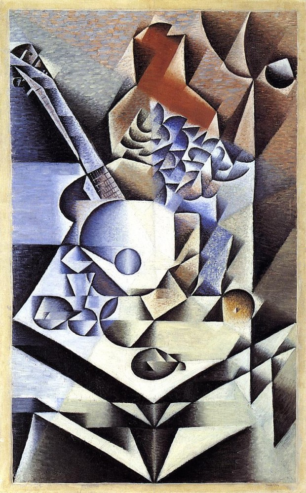 Still Life with Flowers by Juan Gris