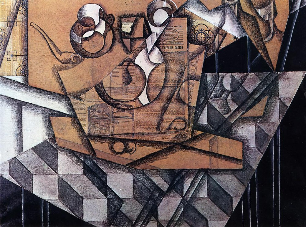 Tea Cups by Juan Gris