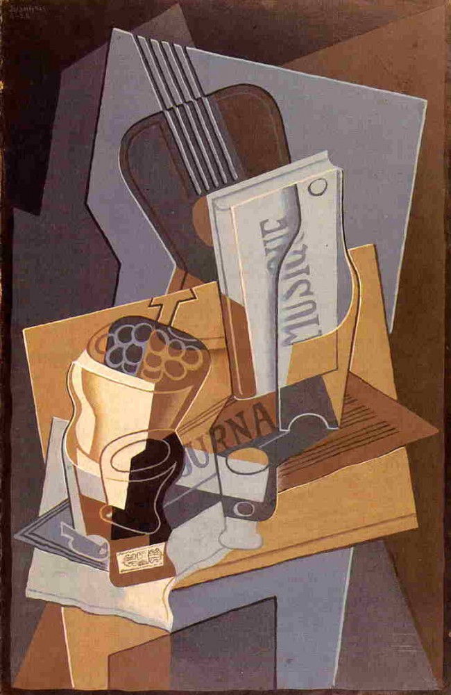 The Book of Music by Juan Gris