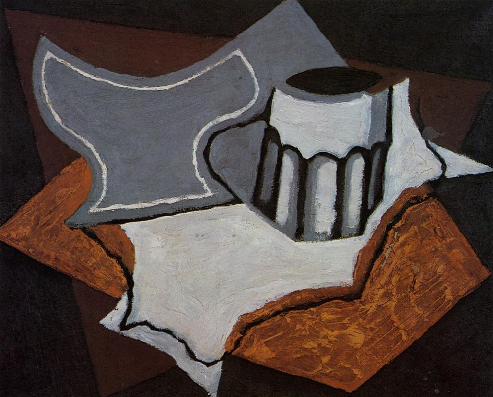 The Goblet by Juan Gris
