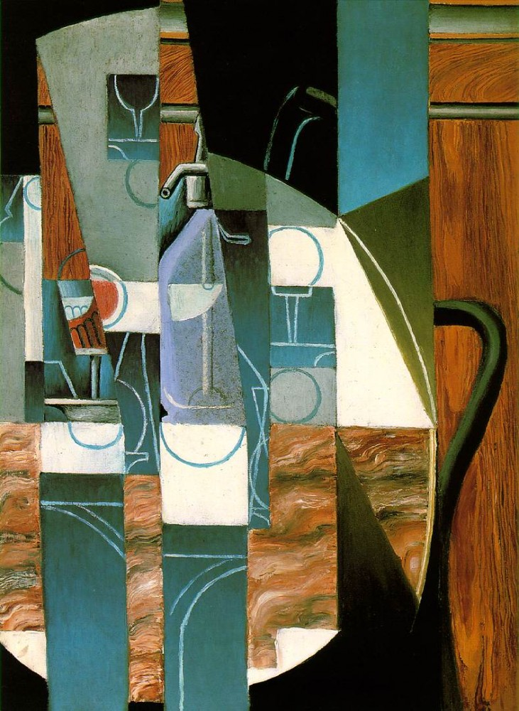 The siphon by Juan Gris