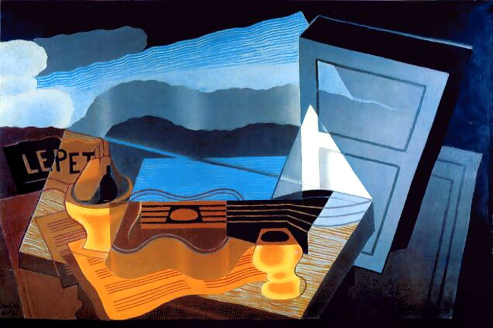 View of the Bay by Juan Gris
