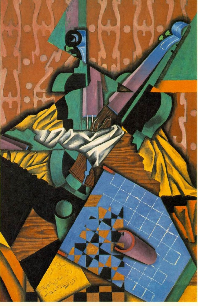 Violin Checker by Juan Gris