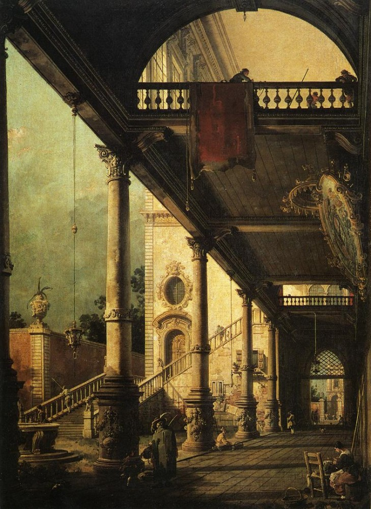 Architectural by Giovanni Antonio Canal