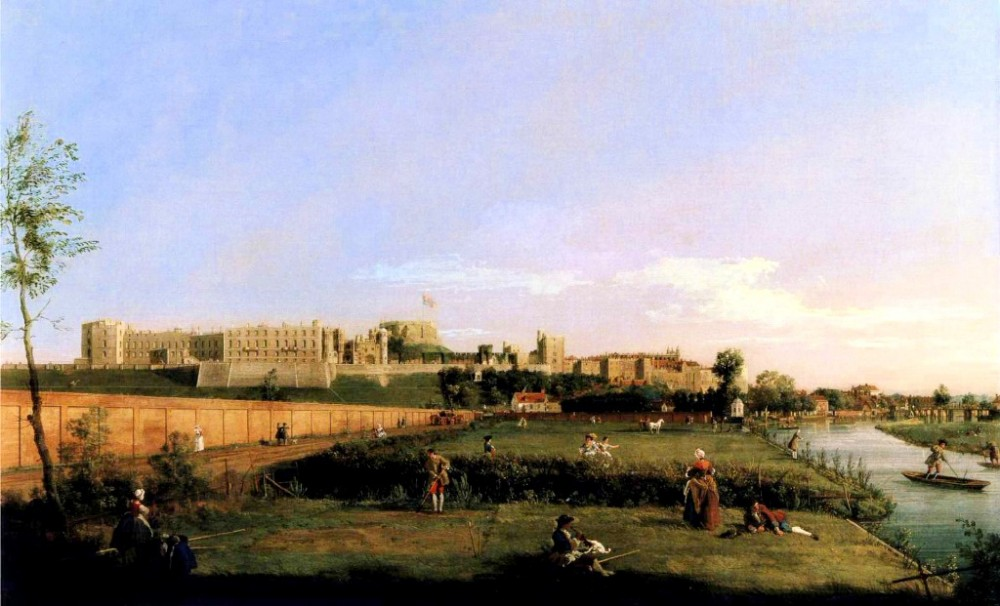 Windsor Castle by Giovanni Antonio Canal