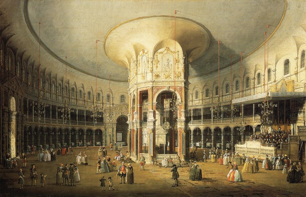 The Rotunda Of Ranelagh House by Giovanni Antonio Canal