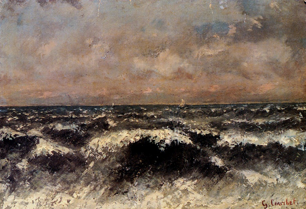 Marine by Jean Désiré Gustave Courbet