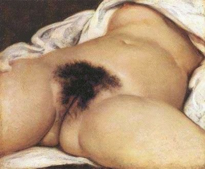 The Origin of the World by Jean Désiré Gustave Courbet