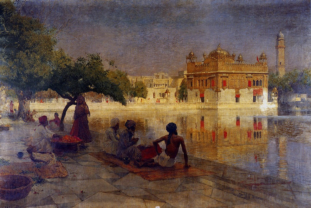 The Golden Temple Amritsar by Edwin Lord Weeks
