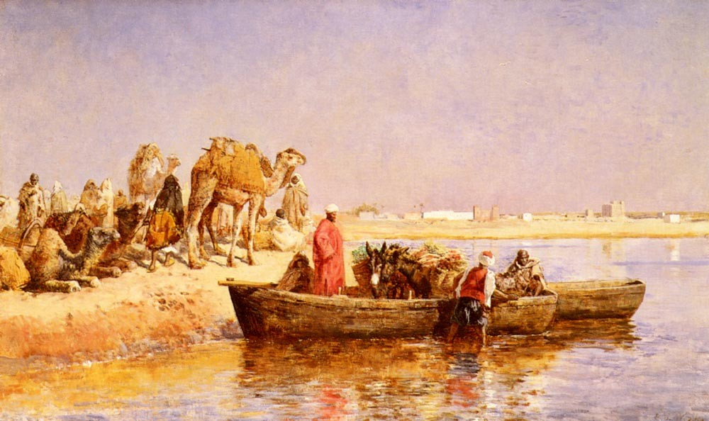Along The Nile by Edwin Lord Weeks