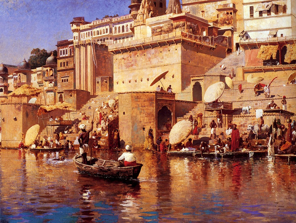 On The River Benares by Edwin Lord Weeks
