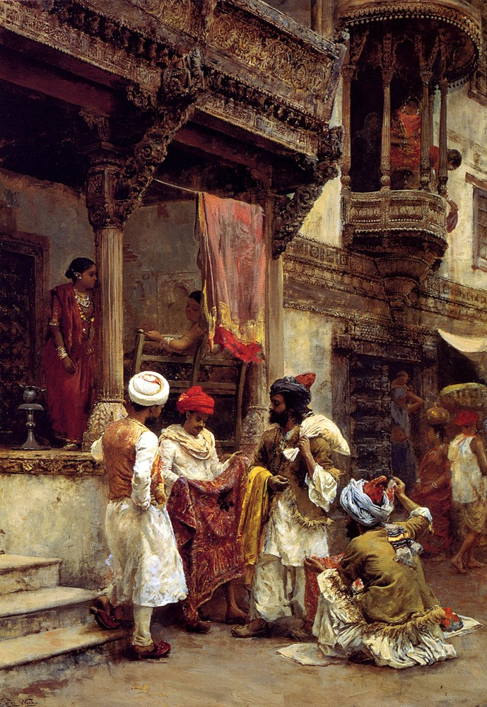 The Silk Merchants by Edwin Lord Weeks