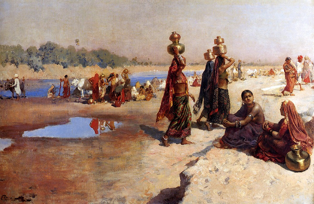 Water Carriers Of The Ganges by Edwin Lord Weeks