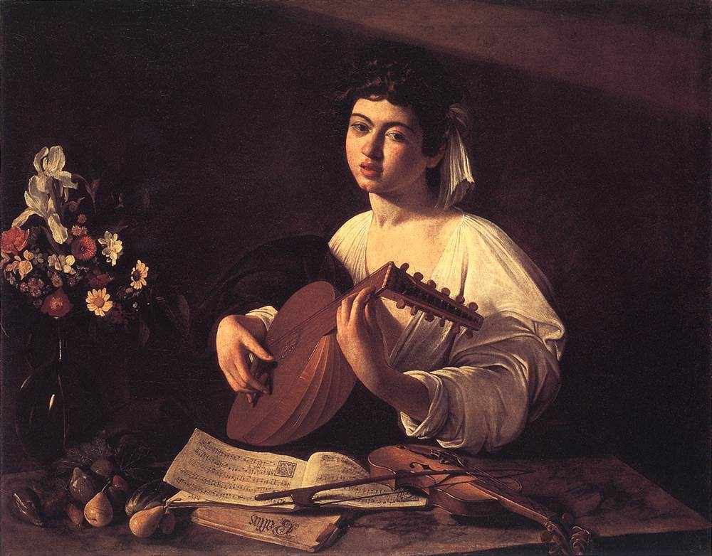 Lute Player by Michelangelo Merisi da Caravaggio