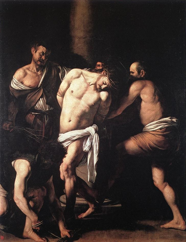 Flagellation by Michelangelo Merisi da Caravaggio