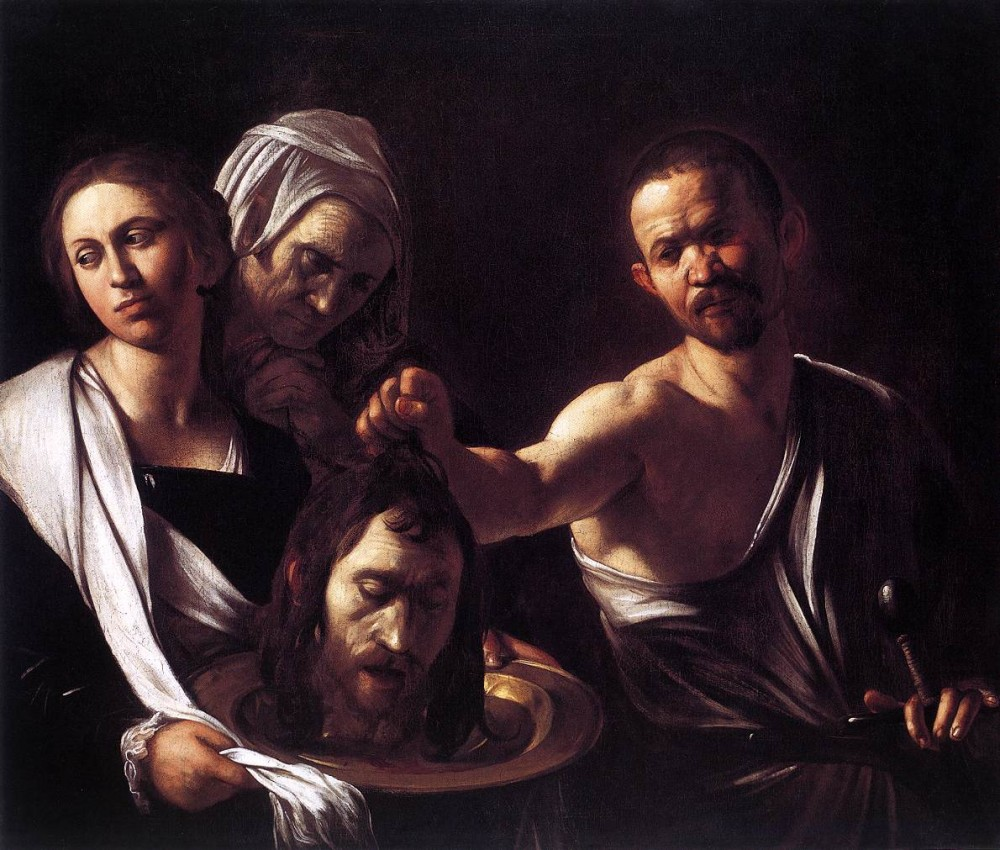 Salome with the Head of St John the Baptist by Michelangelo Merisi da Caravaggio