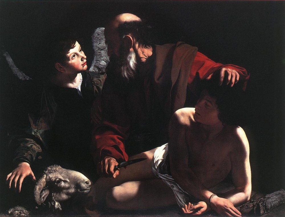 The Sacrifice of Isaac 2 by Michelangelo Merisi da Caravaggio