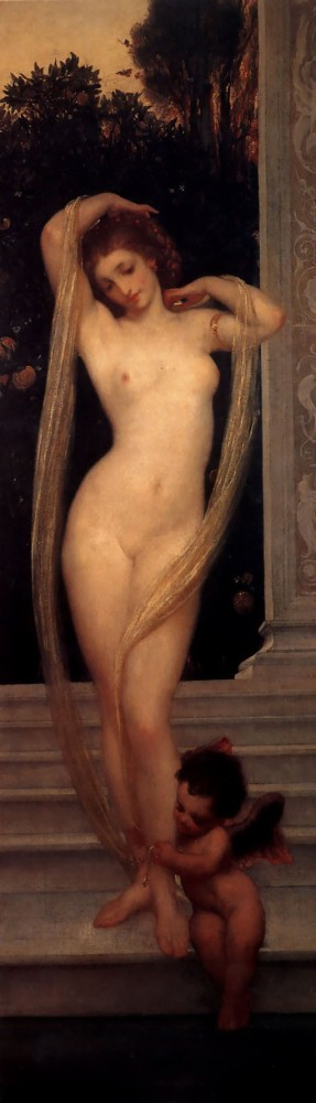 A Bather by Sir Frederic Leighton