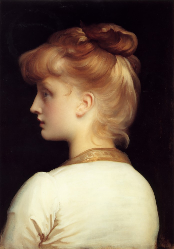 A Young Woman by Sir Frederic Leighton