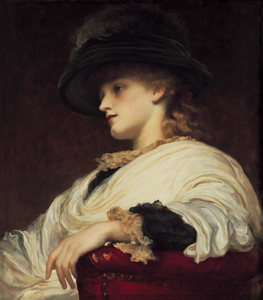Phoebe by Sir Frederic Leighton