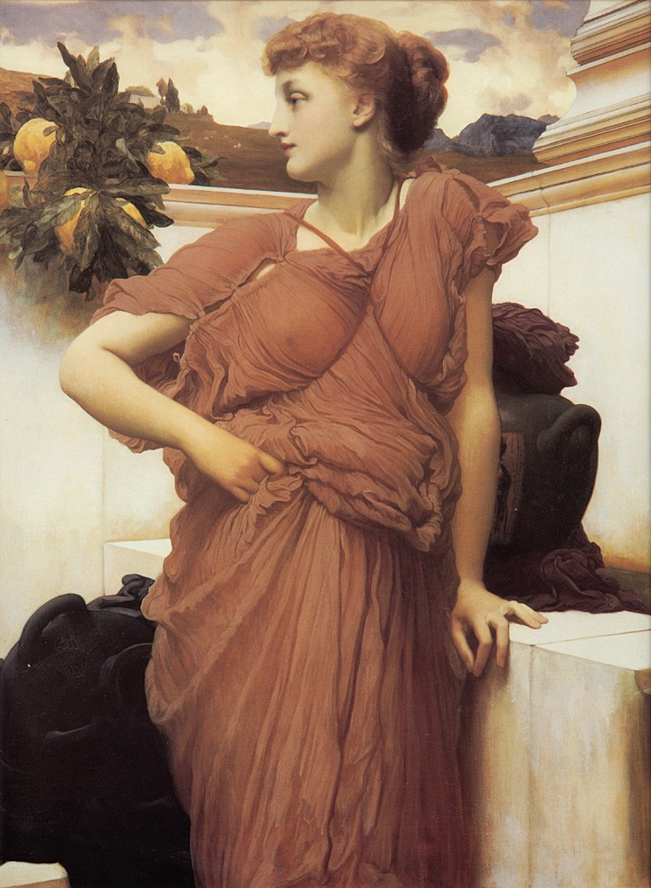 At the Fountain by Sir Frederic Leighton