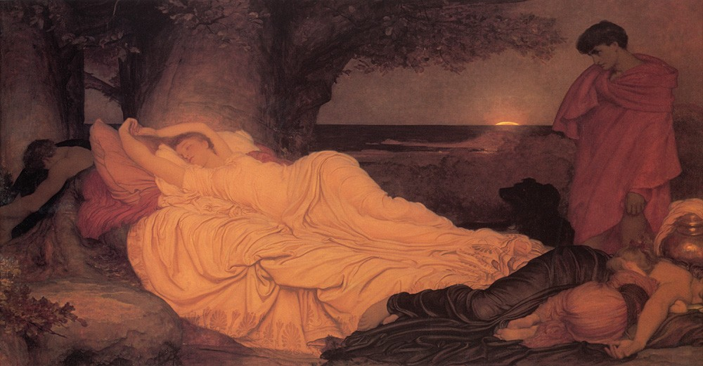 Cymon and Iphigenia by Sir Frederic Leighton