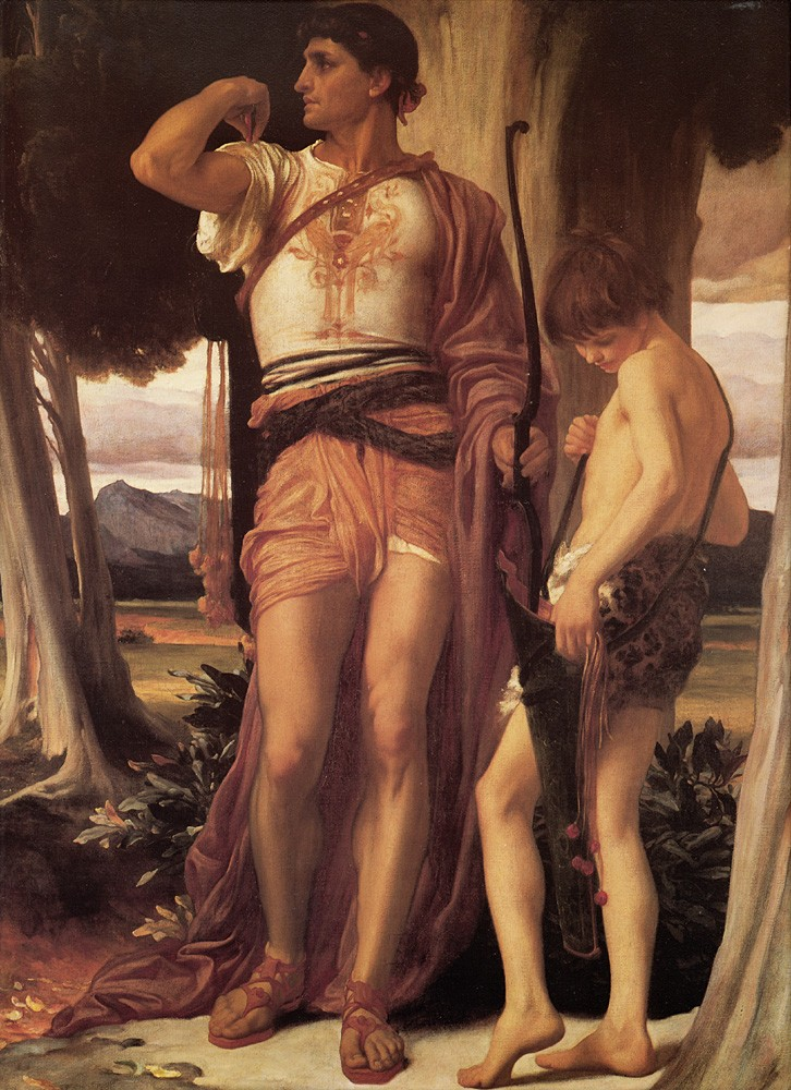 Jonathan-s Token to David by Sir Frederic Leighton
