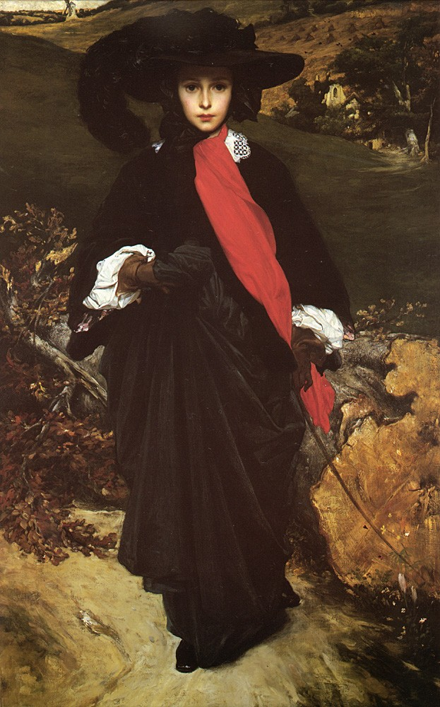 May Sartoris by Sir Frederic Leighton