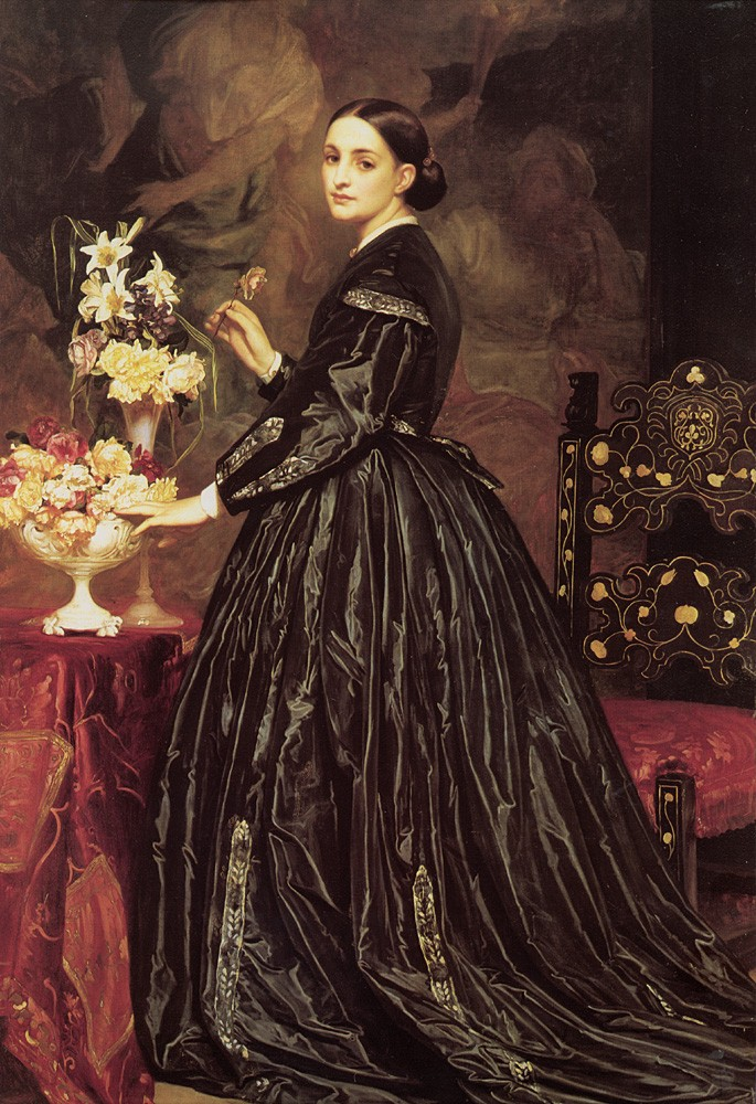 Mrs James Guthrie by Sir Frederic Leighton