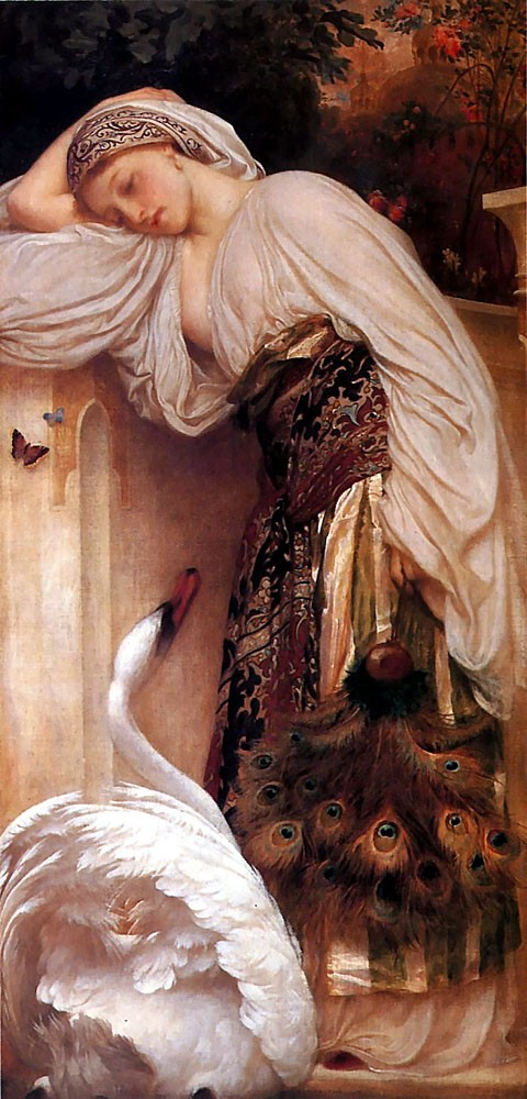 Odalisque by Sir Frederic Leighton