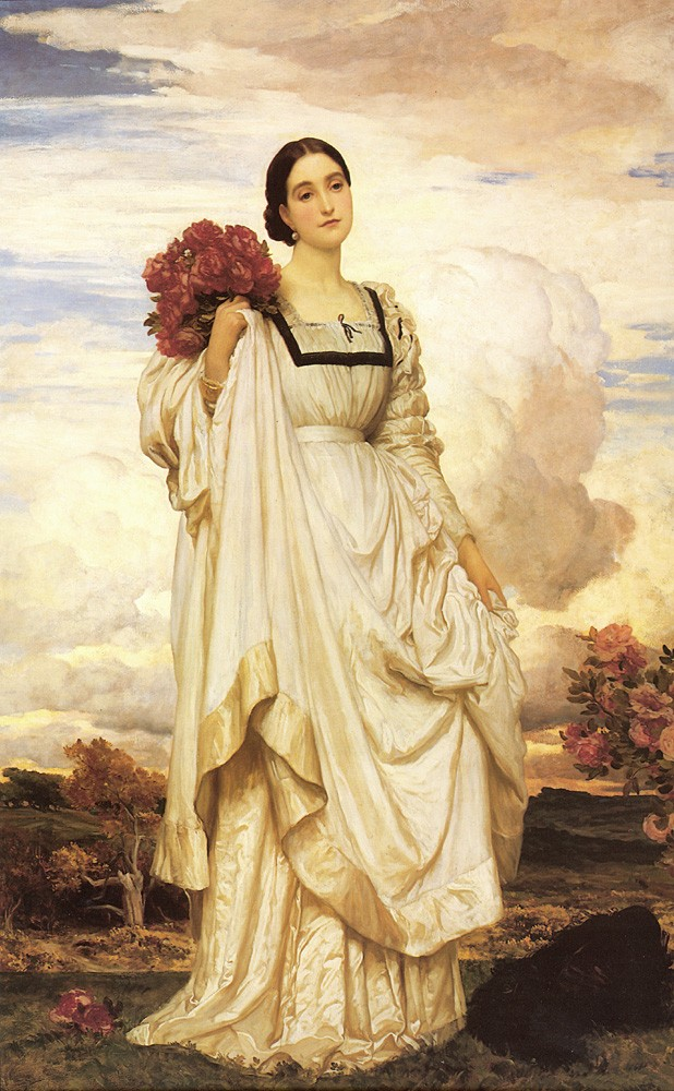 The Countess Brownlow by Sir Frederic Leighton