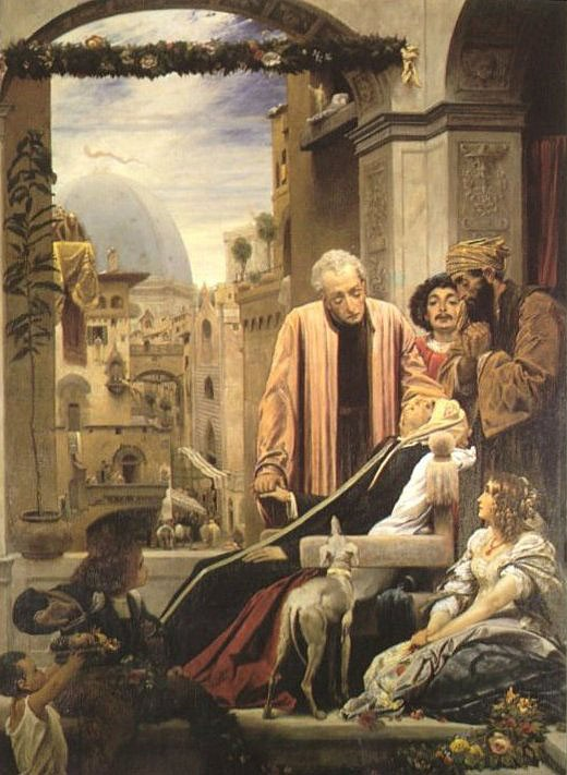 The Death of Brunelleschi by Sir Frederic Leighton
