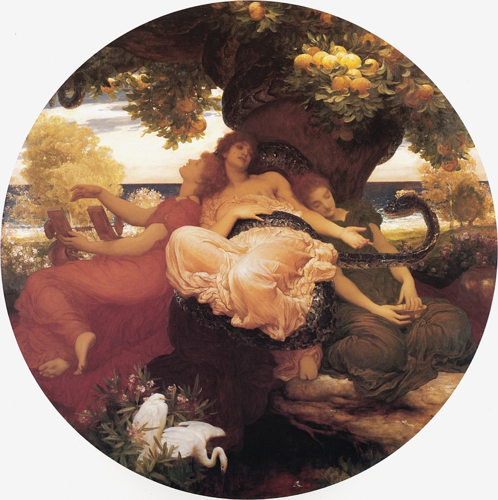 The Garden of the Hesperides by Sir Frederic Leighton