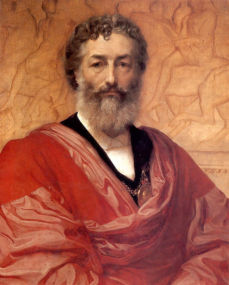 Self Portrait by Sir Frederic Leighton