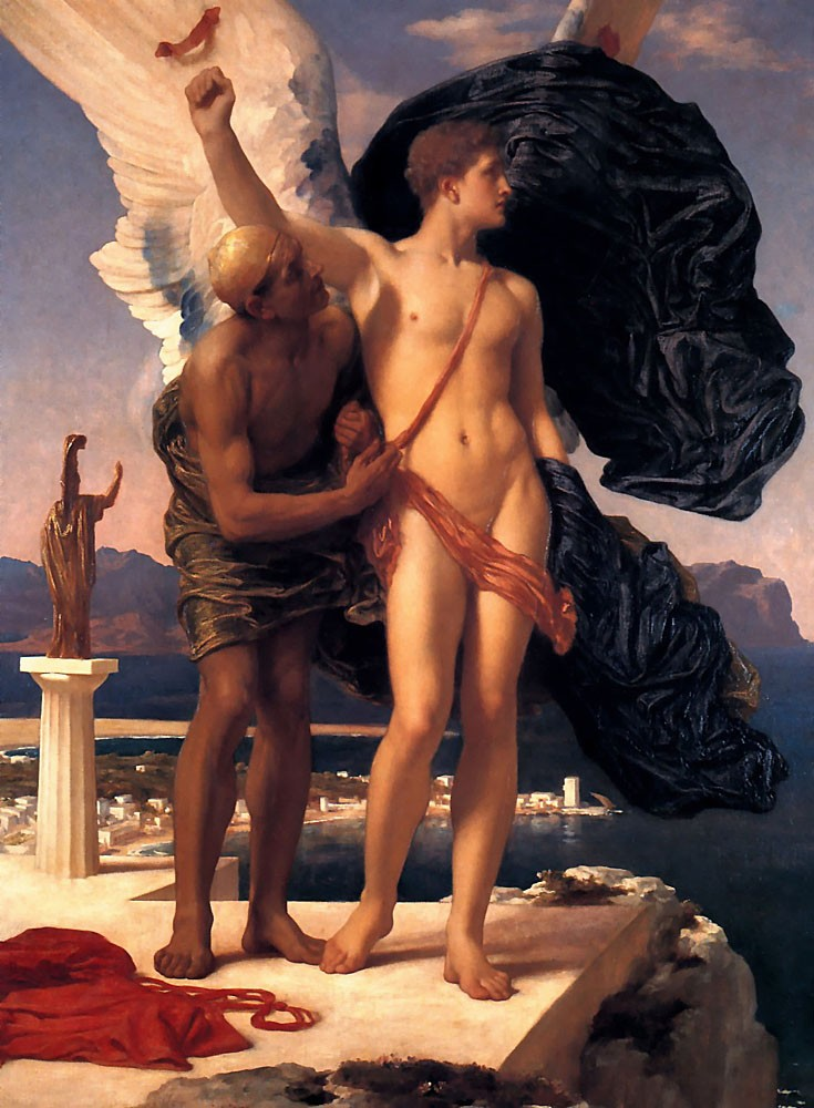 Icarus by Sir Frederic Leighton