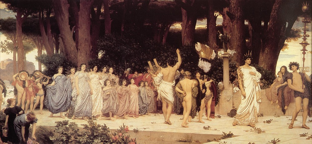 The Daphnephoria by Sir Frederic Leighton