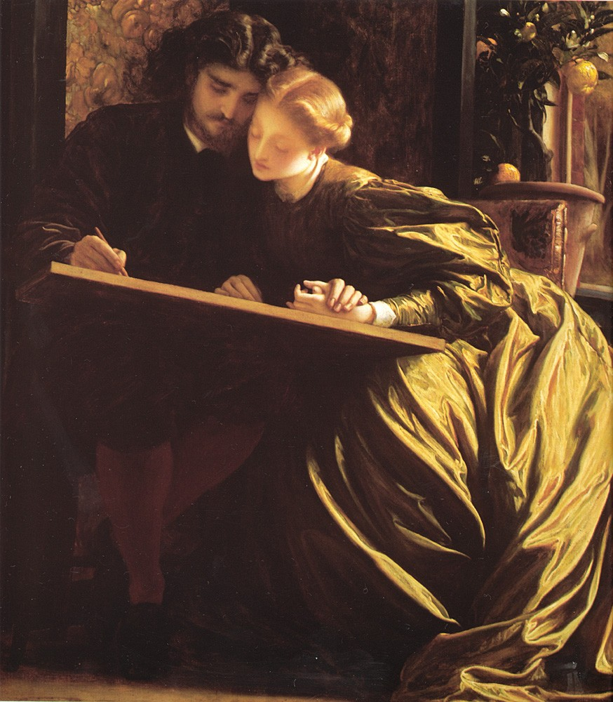 The Painter-s Honeymoon by Sir Frederic Leighton