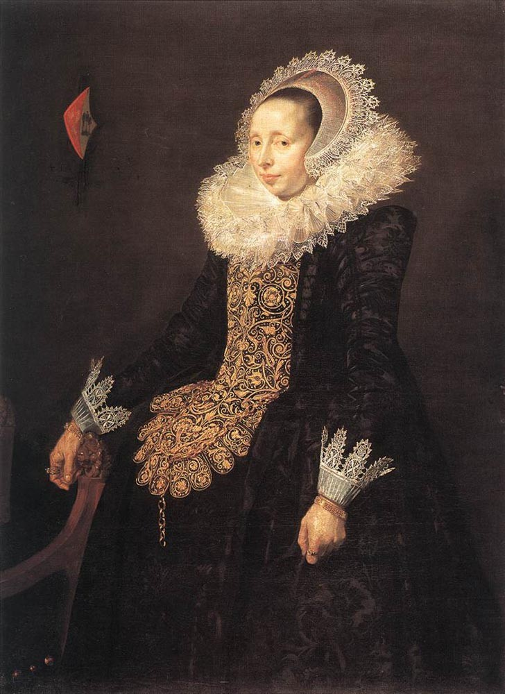 Catharina Both Van Der Eern by Frans Hals