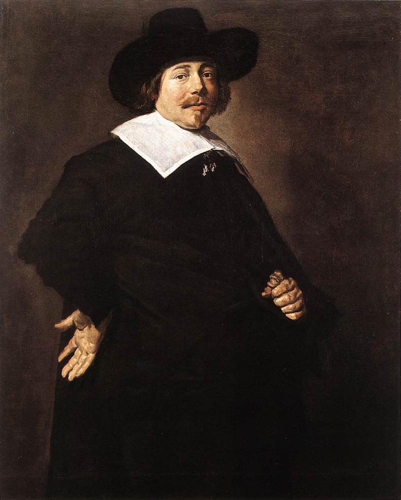Portrait Of A man (1640) by Frans Hals