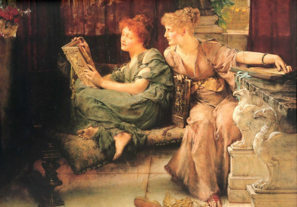 Comparisons by Sir Lawrence Alma-Tadema