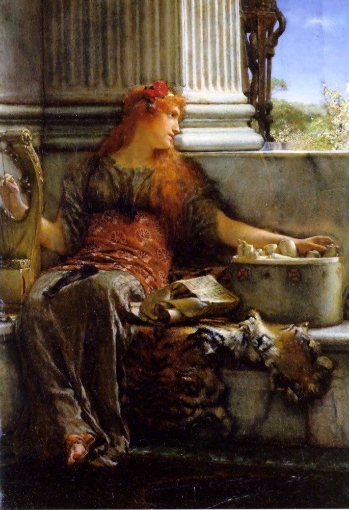 Poetry by Sir Lawrence Alma-Tadema