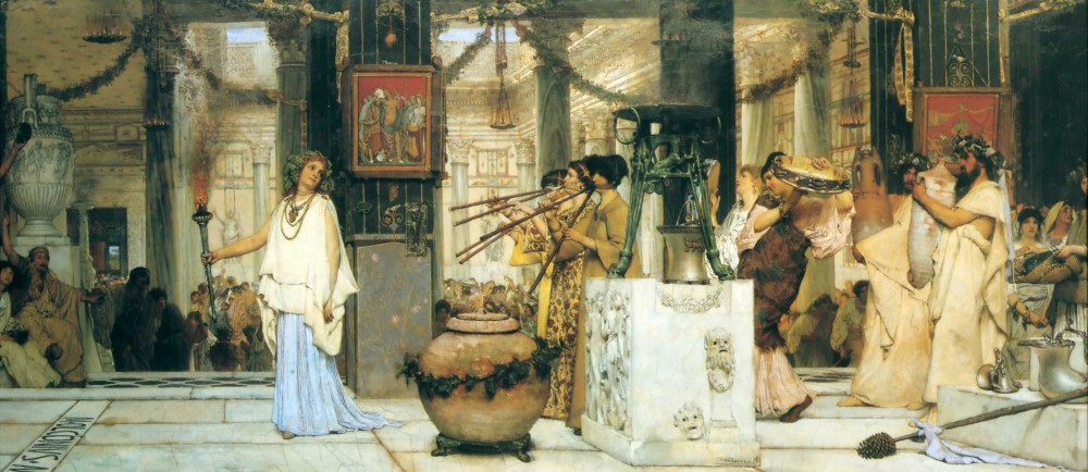 The Vintage Festival by Sir Lawrence Alma-Tadema